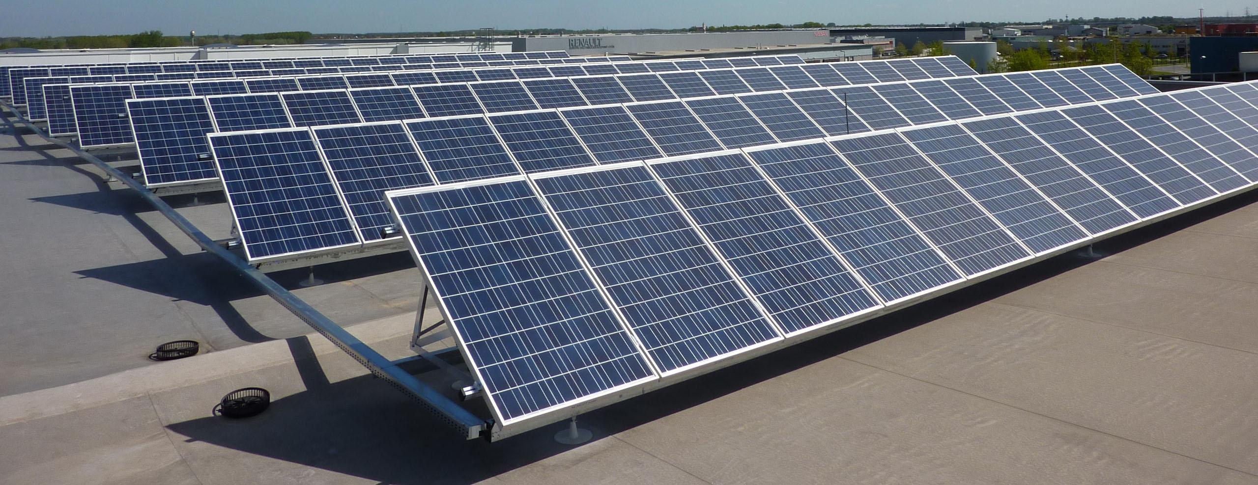 Napelemes erőművünk - Visimpex Solar tartószerkezettel