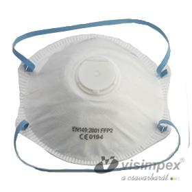 FFP2 Maske mit Ventil
