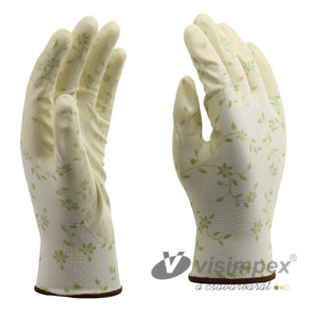 Coated cut-protection glove
