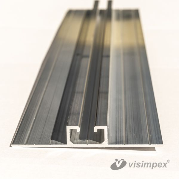 Trapezoidal plate fixing profile TR43