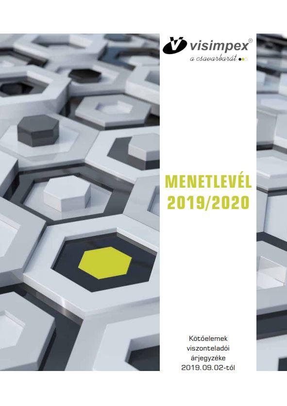 Kötőelem termékkatalógus és árjegyzék - MENETLEVÉL 2019/2020